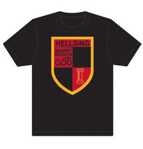Hellsing Ultimate Organization Emblem ADULT T-Shirt GE59051 *NEW* - $19.99