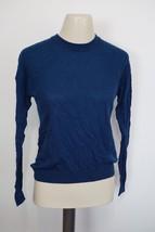 VINCE Lightweight Crewneck Sweater in Dark Blue $225 women's sz XS - V28... - $1.667,13 MXN