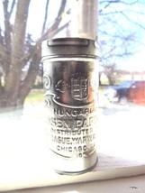 original Hungarian Rosen Paprika,Sprague Warner & co.embossed spice tin ... - $47.50