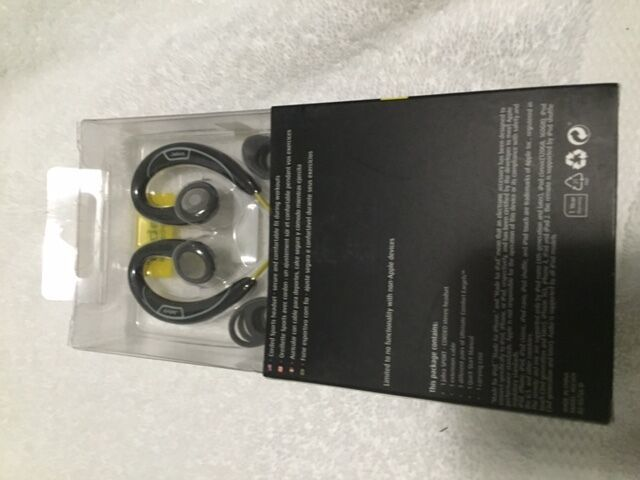 Jabra Sport Corded Stereo Headphone Headset For iphone 5 5C 6/Plus Galaxy S6 S5