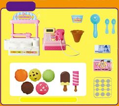 Toritori Icecream Store Shop Cash Register Calculator Calculation Roleplay Toys image 3