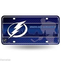 Tampa Bay Lightning Team Logo Nhl Metal License Plate Made In Usa - $29.69