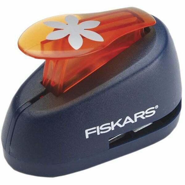 Fiskars Medium Lever Punch, Flower #01-005469
