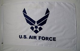 Air Force White & Blue Wing Flag 3' X 5' Indoor Outdoor Military Banner - $9.95