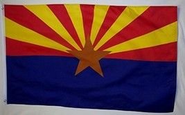 State of Arizona Flag 3' X 5' Indoor Outdoor State Banner - $9.95