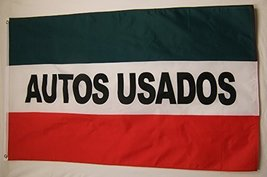 Autos Usados Business Flag 3' X 5' Indoor Outdoor Used Cars Banner - $10.95