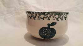 Tienshan Folk Craft APPLE Green Sponge Sugar Bowl 2.75 Inches - $4.49