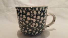 Tienshan Folk Craft APPLE Green Sponge Mug (s) ... - $12.64