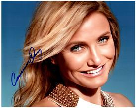 CAMERON DIAZ  Authentic Original AUTOGRAPHED SIGNED PHOTO w/ COA 1686