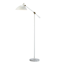 Adesso 3169-02 Peggy Floor Lamps 32in White 1-light - $200.00