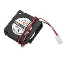 JGAURORA 30*30*10mm Turbo Cooling Fan with Line for 3D Printer - $13.99