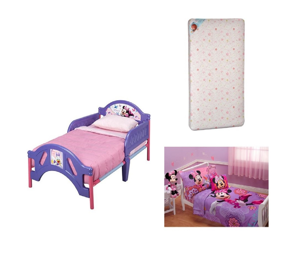 Toddler Minnie Mouse Bed Set
