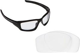 New Seek Optics Replacement Lenses Oakley Valve   Clear - $10.86