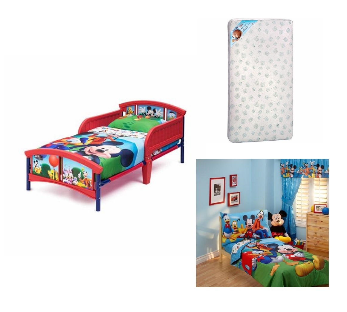Toddler Character Bed Toddler Mattress And Complete