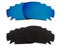 New SEEK OPTICS Replacement Lenses Oakley VENTED JAWBONE - Black Blue - $23.25