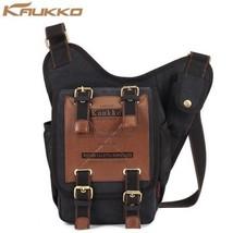 Vintage Style 5L Canvas Sling Bag Fashionable, Trendy! Fashionable! Dura... - $51.90
