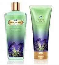 Victoria's Secret Fantasies Duo Set- True Escape Hydrating Body Cream an... - $49.49