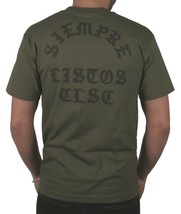 CLSC Classic Always Ready Military Green Men's T-Shirt Siempre Listos T-Shirt NW