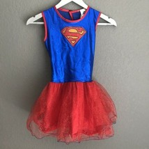 Rubies DC Comics SuperGirl Costume Dress Up Medium 8 10 Tutu Halloween - £9.87 GBP