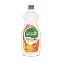 Seventh Generation Dish Liquid Soap, Clementine Zest & Lemongrass Scent,... - $25.51