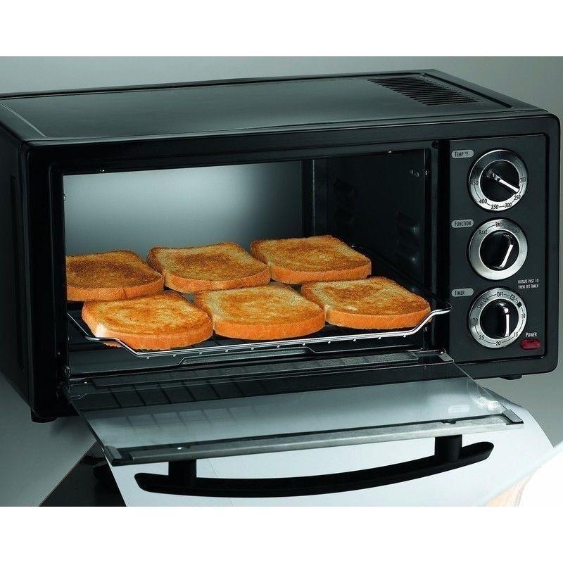 Countertop Oven Roaster : Slice Toaster Oven Broiler & Roaster, Countertop Bake, Broil, Roast ...