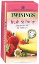 Twinings Strawberry and Mango Tea, 25 Tea Bags - $13.49