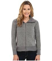 WOOLRICH Women's Double Creek Fleece Jacket sweatshirt Gray  Large L - $36.14