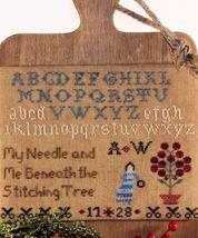 Stitching Tree cross stitch chart Legacy Patterns   - $9.00