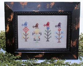 Feathered Friends cross stitch chart Legacy Patterns   - $7.20