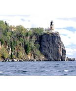 Split Rock Lighthouse Two Harbors MN 5x7 color photo - $5.98