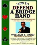 How To Defend A Bridge Hand, Root, William S., Bridge Book - $8.99