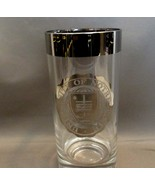 Notre Dame Logo Silver Banded Tumbler ~Hi-HiBall Glass Beautiful~ Classy - $4.99
