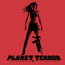 Planet Terror T shirt Grind House movie retro 100% cotton graphic tee image 2