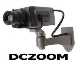 Imitation Security Camera with Zoom Style Lens - $26.90