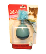Worldwise Blue Dizzy Thing Spinning Electronic Motion Cat Toy  786306496944 - $28.61