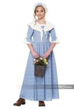 California Costumi Coloniale Villaggio Girl Costume Halloween Bambini 00346 - $27.16