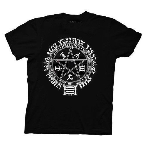 Hellsing Ultimate Sigil T-Shirt (Adult) GE59049 *NEW* - $19.99