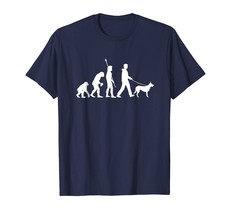 German Shepherd Dog T-Shirt - Funny Dog Owner Evolution Gift - €16,65 EUR