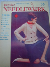 Vintage Popular Needlework September 1968 - $3.99
