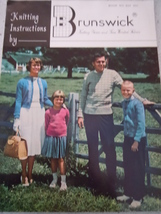 Knitting Instructions by Brunswick 1960 - $3.99