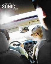 2012 Chevrolet SONIC brochure catalog US 12 Chevy LS LT LTZ - $6.00