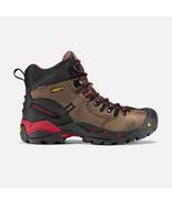 New Men's KEEN Utility Pittsburgh Steel Toe Work Boots BISON 1007024 - £116.67 GBP