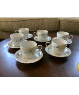 Johann Haviland Blue Garland Traditions Fine China Tea Cup & Saucer Set ... - $49.99