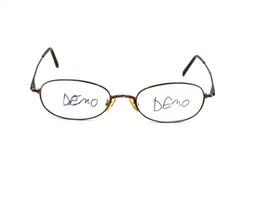 ELLE EL 18511 Women's Oval Metal Eyeglasses Frame, Burgundy. 50-18-140 #P94 - $34.60