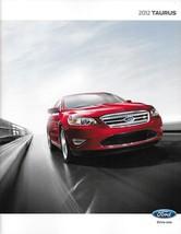 2012 Ford TAURUS sales brochure catalog US 12 SE SEL Limited SHO - $8.00