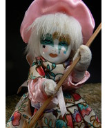 RARE SPIRITS JAPANESE WITCH ESTATE ANTIQUE HAUNTED SACRED DOLL no Djinn - $1,313.13