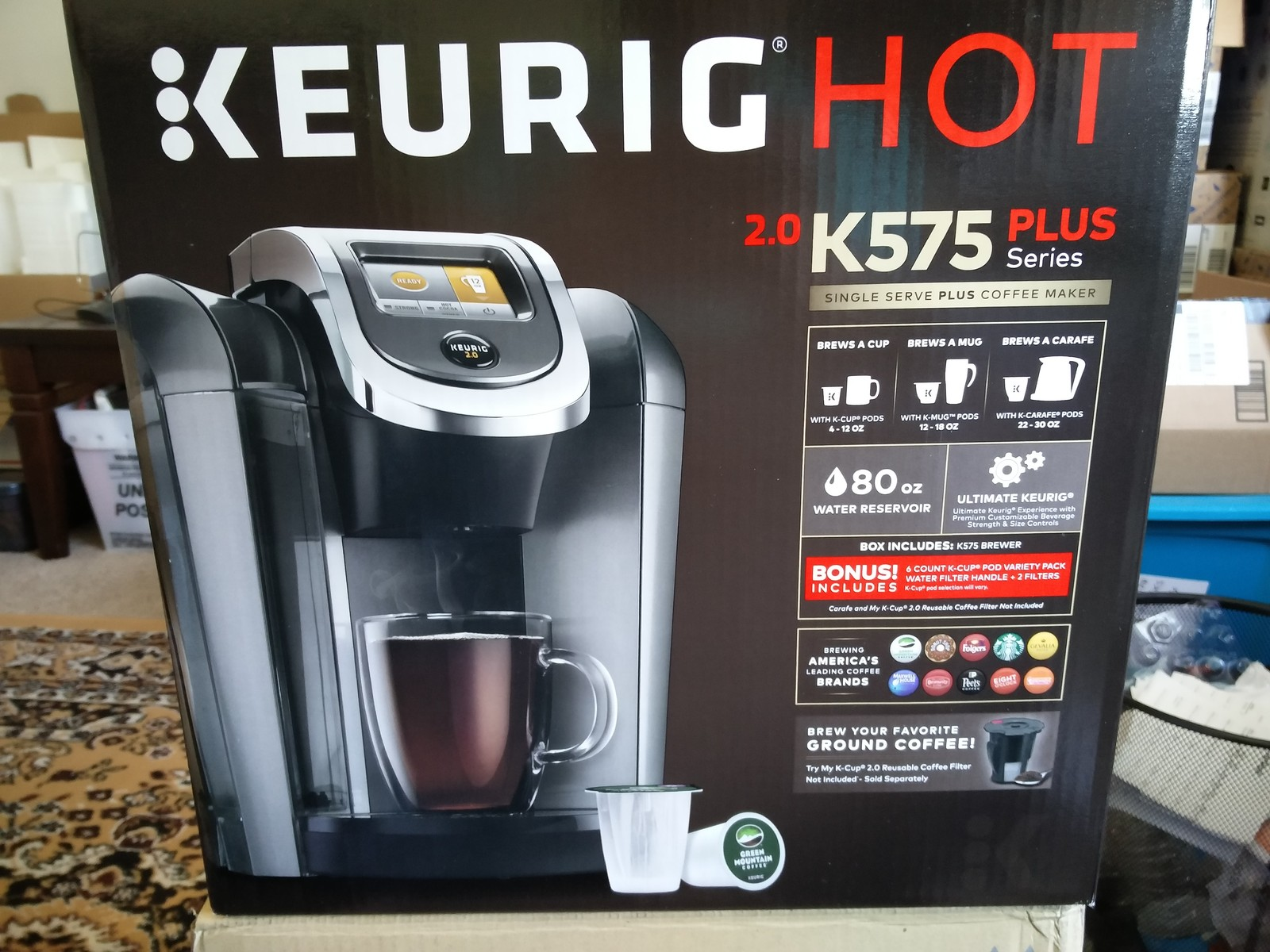 Keurig 2 0 K 525 575 Platinum Brewing And 50 Similar Items