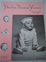 Pauline Denham Yarns Knitting Instruction Bookl... - $2.99