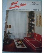 1001 Decorating Ideas Consolidated Trimming Corp 1950's - $3.99