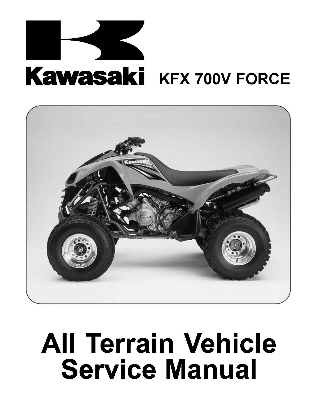 image is loading kawasaki kfx50 ksf50 a1 factory service manual 2003 Array  - 2004 kawasaki kfx700 v kfx 700 v force and 50 similar items rh bonanza